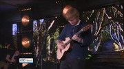 Nine News (Web): Ed Sheeran playing at London Irish Centre