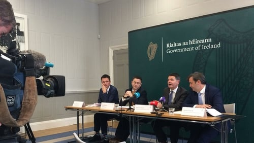 Finance Minister Paschal Donohoe says the country can't build permanent expenditure commitments on revenues that may not be sustainable
