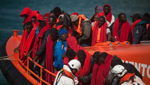 Huge numbers of migrants and refugees are making perilous journeys to Europe