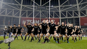 The All Blacks return to the Aviva Stadium on Saturday evening