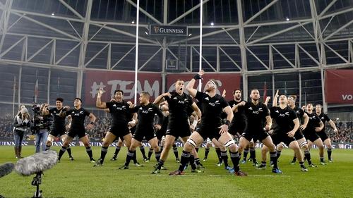 The All Blacks return to the Aviva Stadium on Saturday evening