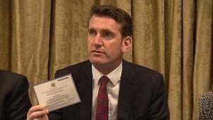 Labour Senator Aodhán Ó Riordáin said Irish politicians should make a stand
