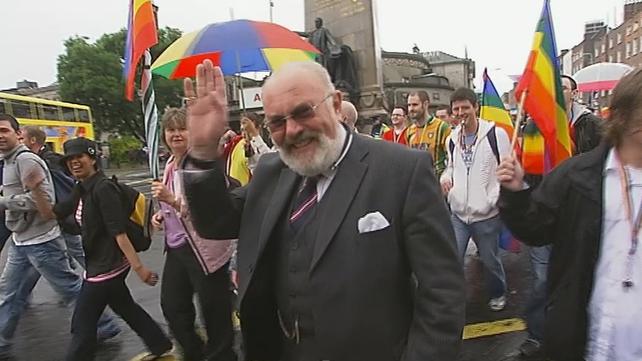 Senator David Norris, Gay Pride (2008)