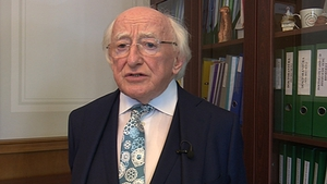 President Michael D Higgins is on a State visit to the Baltic nations