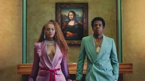 The Carters: Beyonce and Jay Z filmed the video for Apeshit in The Louvre