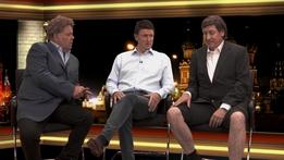 Roy Keane and Slaven Bilic | Après Match