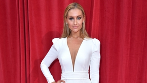 "Catherine Tyldesley: ""The most incredible seven years of my life. With the best team. Thank you universe - grateful every day."""