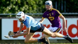 Dublin's Eoghan Conroy with Liam Stafford of Wexford