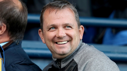 Davy Fitzgerald in good mood