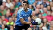 Bernard Brogan is back in training with Dublin