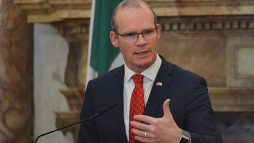Tánaiste Simon Coveney said a Eurovision boycott would not advance the cause of Palestinians