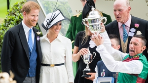 The Duke and Duchess of Sussex attend Ascot 2018