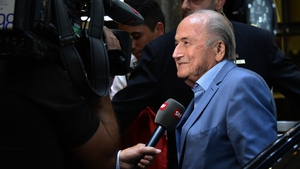 Sepp Blatter is in Russia watching the World Cup