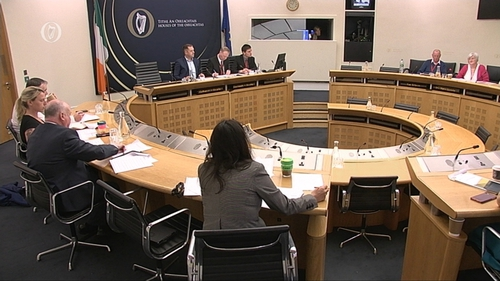 Former board members of Caranua addressed the Oireachtas Education Committee this morning
