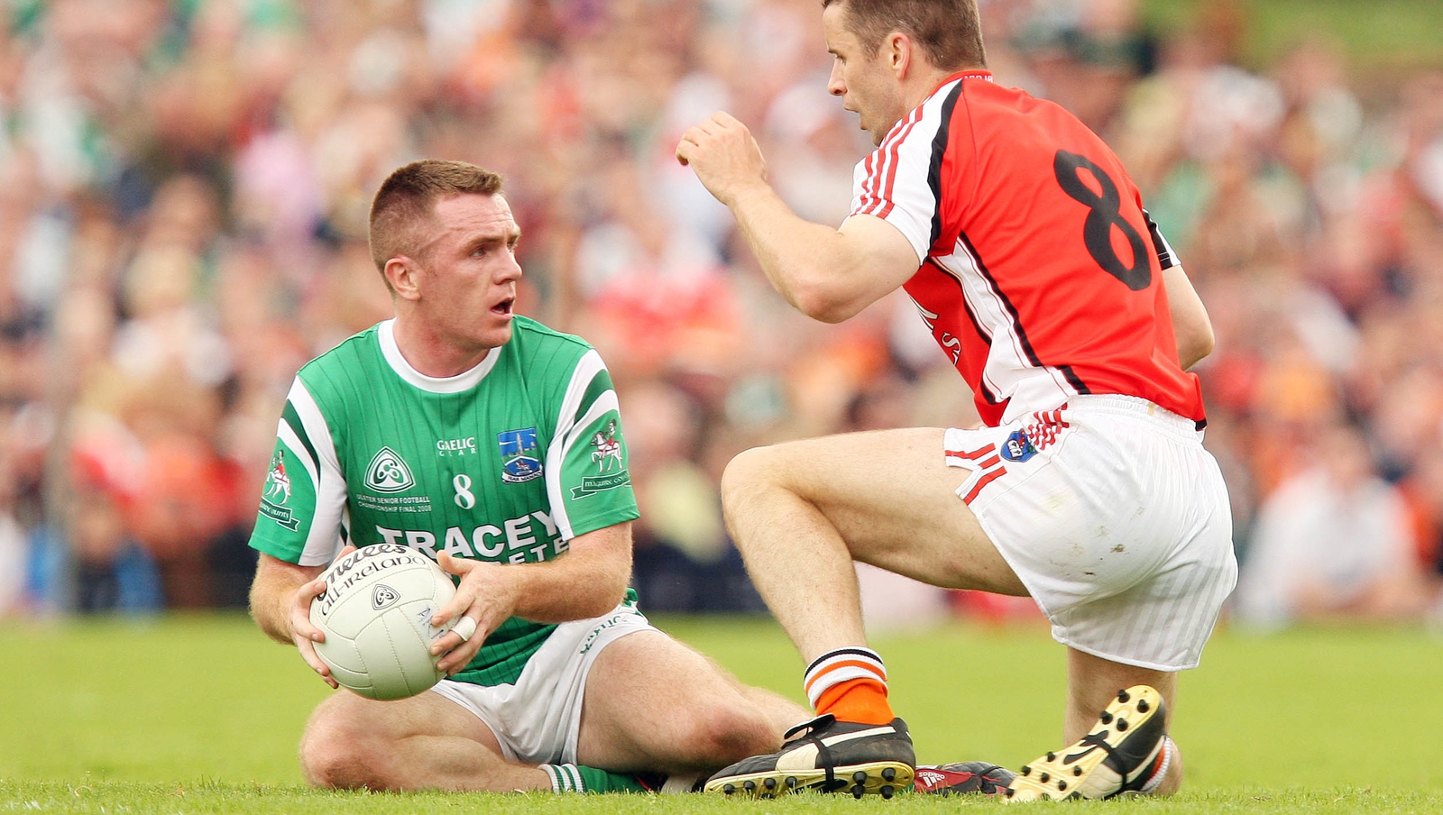 Image - Marty McGrath in action against Armagh a decade ago