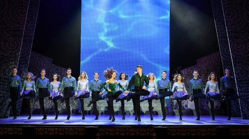 Riverdance's annual charity dance-a-thon took place outside The Gaiety Theatre from 10am-10pm