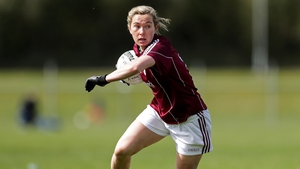 Galway captain Tracey Leonard.
