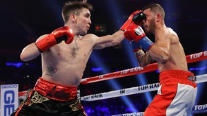 Michael Conlan outpointed Ibon Larrinaga at Madison Square Garden, New York in his last fight