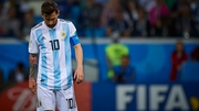 Lionel Messi was a spectator as Argentina were well beaten