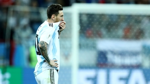 Messi was a largely anonymous figure in the 3-0 defeat to Croatia
