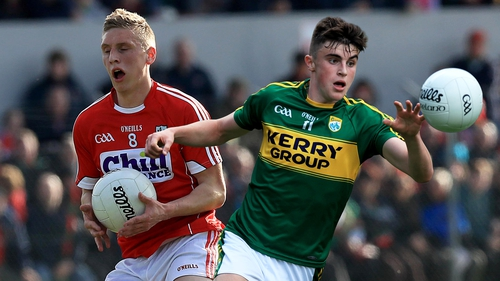 Seán White, left, and Kerry's Seán O'Shea will both be playing in their first Munster SFC Final