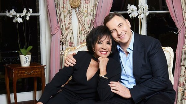 Shirley Bassey celebrates her 80th birthday with David Walliams