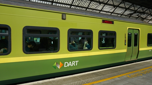 Renters pay 15% more to live by the Luas & DART