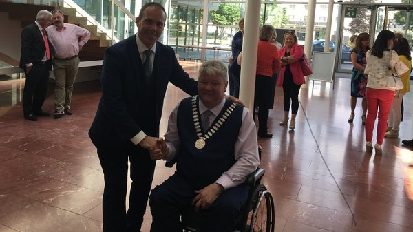 FF Cllr Patrick Gerard Murphy was elected unopposed as the new Mayor of Cork County