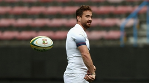 Danny Cipriani's last international start was in 2008