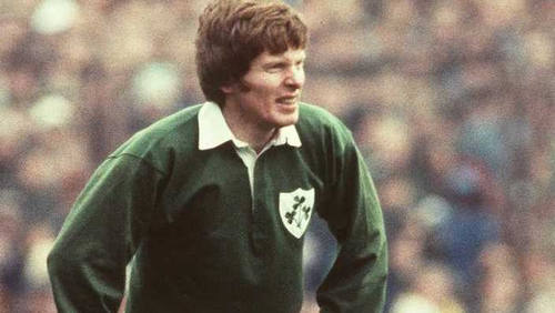 Ollie Campbell was the starting out-half for Ireland's last series win in Australia