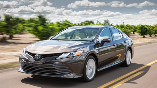 The new Camry has now gone hybrid.