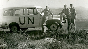 The United Nations Observer Group in Lebanon in the field © Military Archives