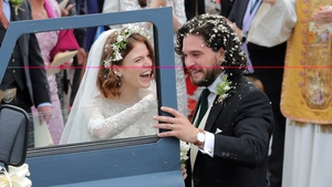 Rose Leslie and Kit Harington met while filming Game of Thrones