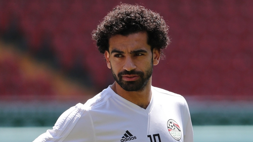 Mo Salah was honoured at event in Grozny