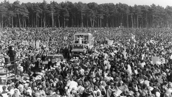 Pope John Paul II's mass in the Phoenix Park is widely believed to have been the largest ever gathering of Irish people in one place