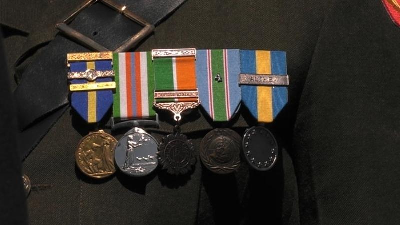 For NATO Service Medals Bronze Number #5