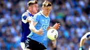 Dublin's Con O'Callaghan with Colm Begley of Laois