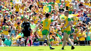 Ryan McHugh lashed home Donegal's second goal in their Ulster final win over Fermanagh in Clones