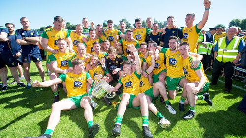 Donegal celebrate their provincial success