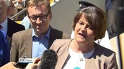 Six One News (Web): Arlene Foster attends Ulster GAA final