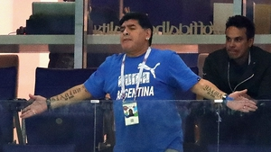 Diego Maradona has told Venezuelan TV that he is 'furious and upset' following the 3-0 loss to Croatia
