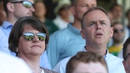 Arlene Foster attended the match in Clones earlier today