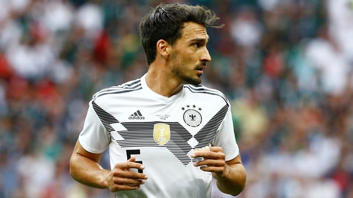 Mats Hummels will be fit for Germany's clash with Korea