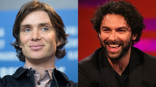Cillian Murphy and Aidan Turner - Nominated for Best Actor