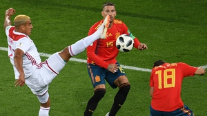 Sergio Ramos and the rest of the Spain defence had a day to forget against Morocco