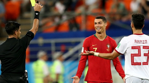 Ronaldo was lucky not to see red 7c93e8c15