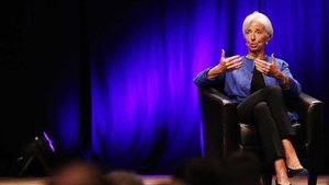 Christine Lagarde: outgoing at the IMF, incoming at the ECB