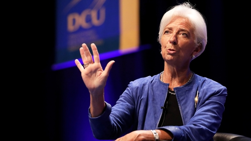 Ms Lagarde said she had made the decision to quit in order to hasten the appointment of her successor as managing director of the fund