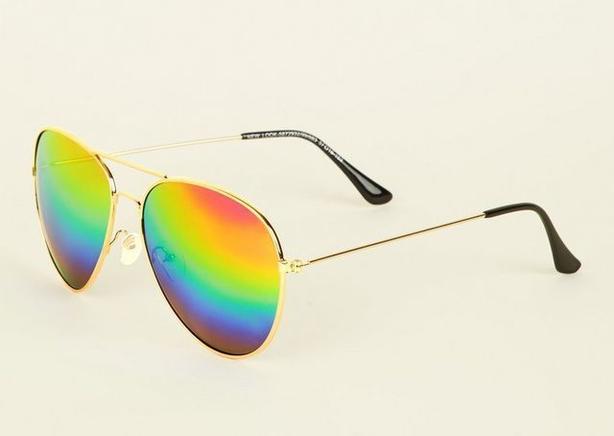 rainbow lens glasses