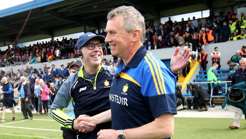 Donal Moloney and Gerry O'Connor have guided Clare to a consecutive Munster final